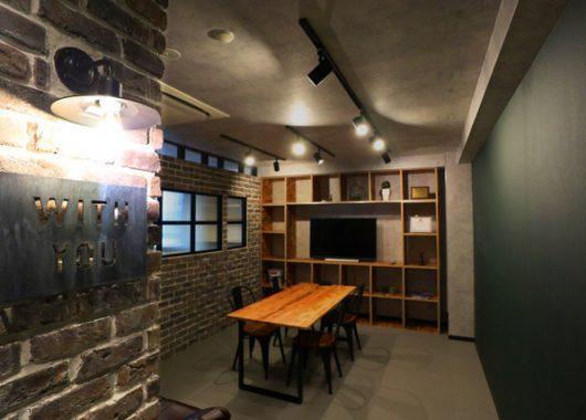 築30年の事務所を内装リノベーション。無骨なビンテージオフィスに生まれ変わりました!!